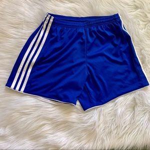 Adidas Royal Blue Climacool Running Shorts Small